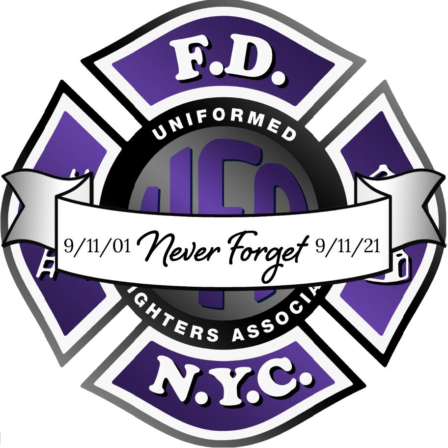 911 never forget logo